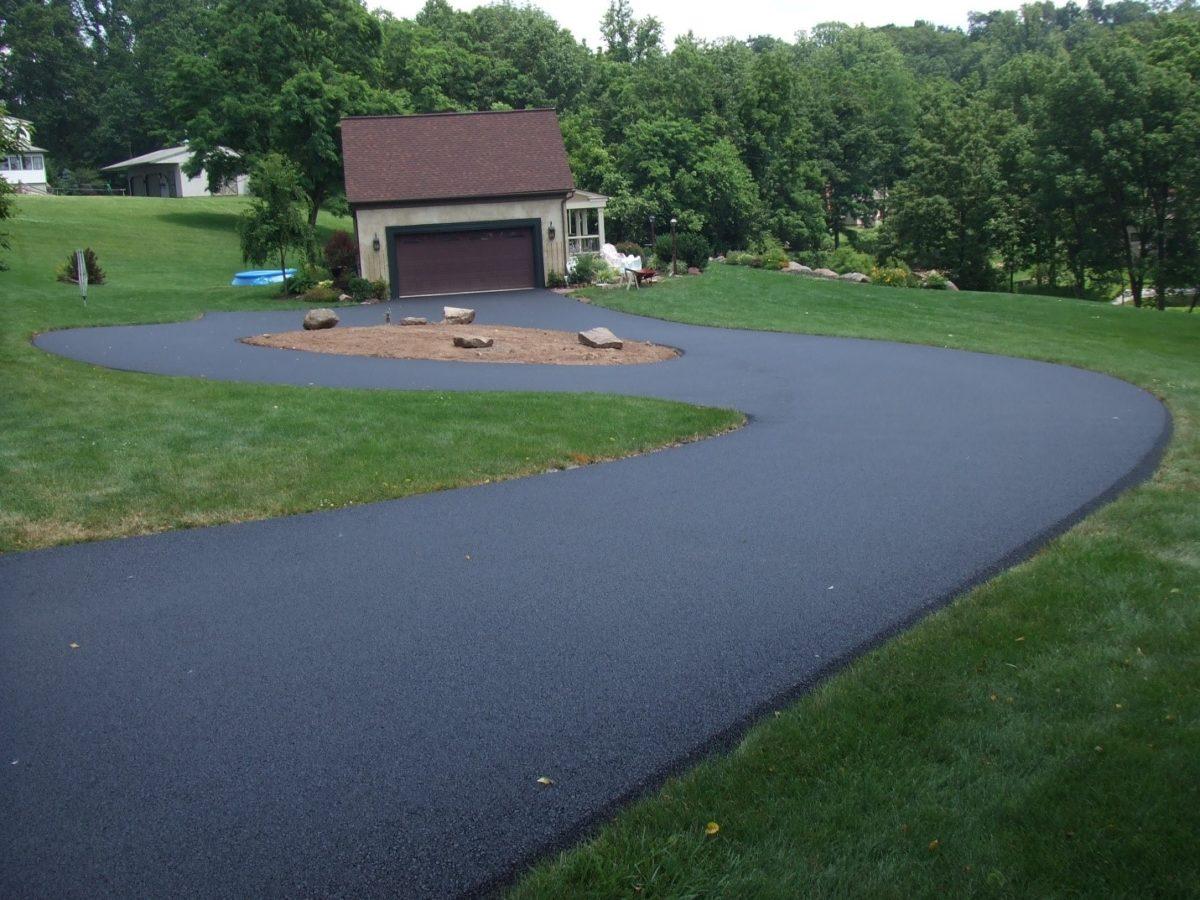 residential asphalt driveway