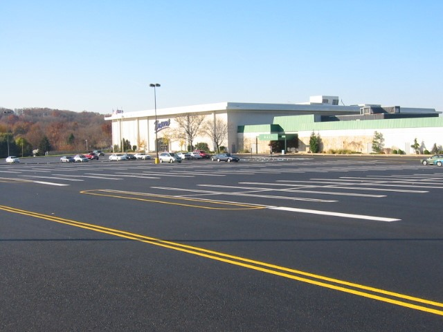 When Can You Open a Commercial Parking Lot After Paving or Repaving?